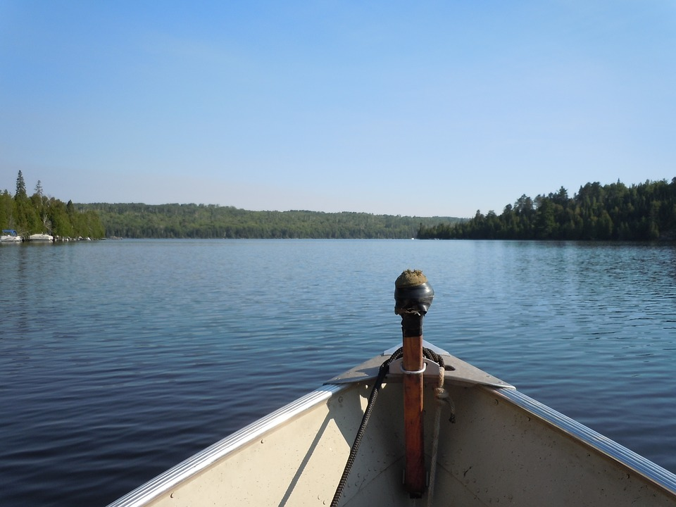 Lamoka Lake Fishing Boat